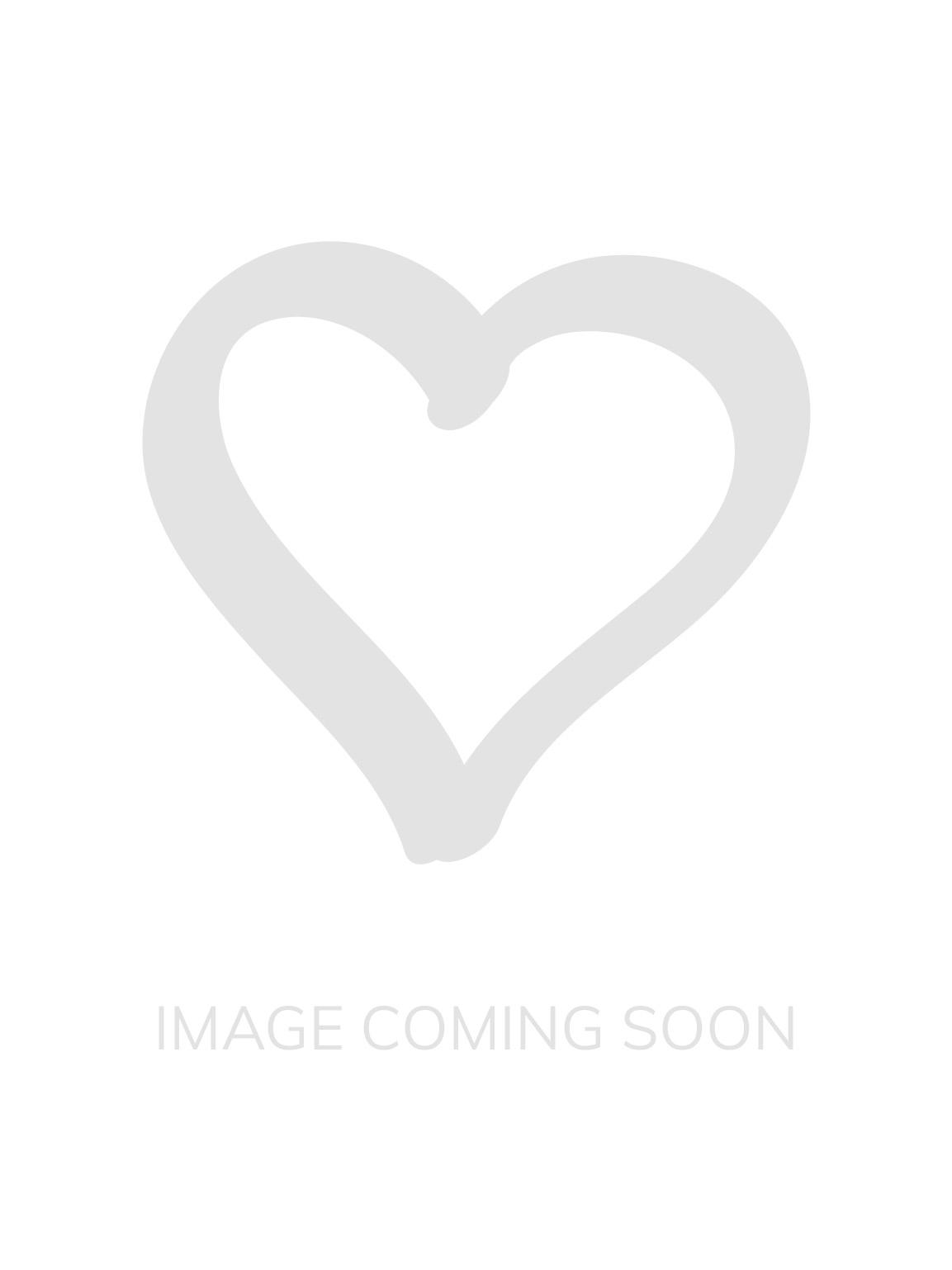 White /& Gold Glitter Heart Bralette